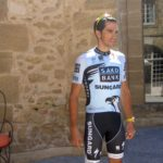 Contador posing for Spanish photographers at Hotel Rochegude, (c) Benepe